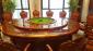 来图来样生产定制电动大圆桌 酒店餐桌 遥控雕花电动餐桌